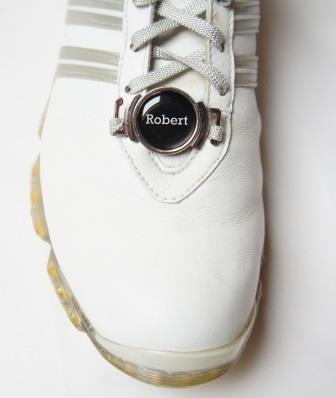 """Schuhclip """"Pitch"""" + Marker mit INITIALEN oder VORNAMEN"""